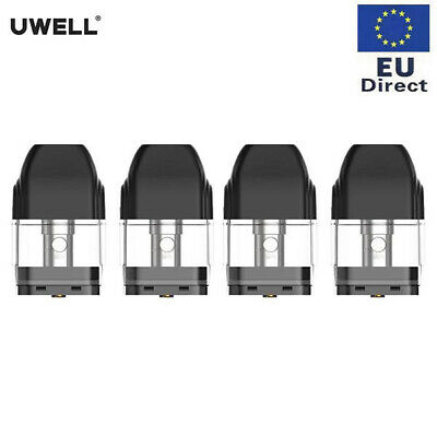 Authentic 4X Uwell Caliburn  Pod Replacement Cartridges Ersatz Patrone 2ml