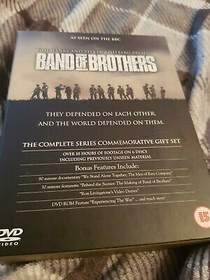 Band Of Brothers Dvd The Complete Series Commemprative Gift Set
