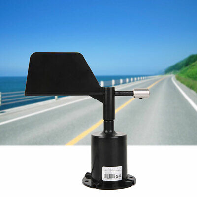 Signal Output Polycarbonate Wind Speed Sensor Anemometer Wind Direction Table