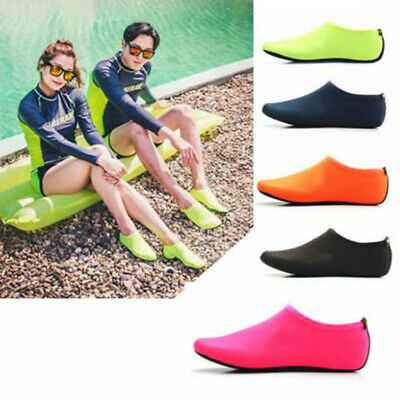 Unisex Adult Kids Water Skin Shoes Aqua Socks for Beach Swimming Surf Yoga New