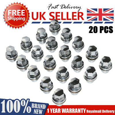For Land Rover Discovery 3&4 New Full Alloy Wheel Nut Set (20 Pcs)-Rrd500510