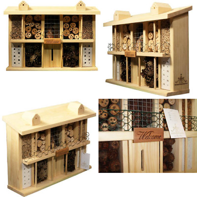 Luxus-Insektenhotels Superior 22626e Bee Hotel / Insect House with 10 Rooms,...