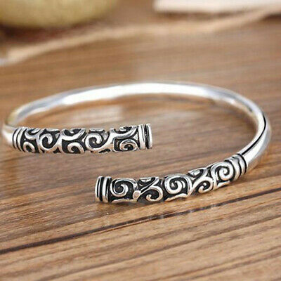 Fashion Charm Women Stainless Steel New Style Cuff Open Bracelet Bangle Chain