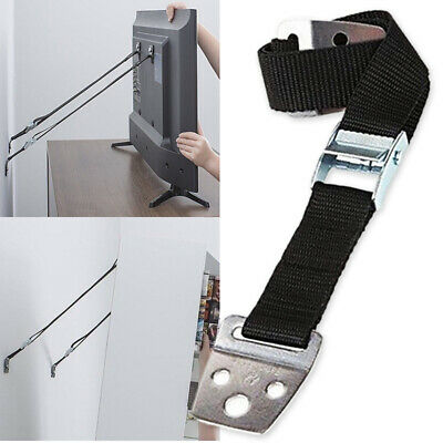 Anti-tip Positioning Straps Adjustable Reverse Baby Child Safe for TV Furniture