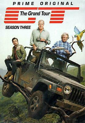 The Grand Tour Season 3 [DVD] Brand New & Sealed - UK Seller