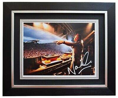 Fatboy Slim Norman Cook Signed Autograph A4 photo display Music AFTAL COA