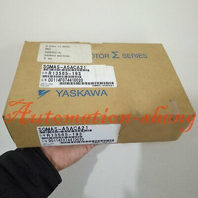 1PC New In Box Yaskawa SGMAS-A5ACA21 AC Servo Motor 1 year warranty