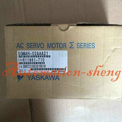 1PC New In Box Yaskawa SGMAH-02AAA21 Servo Motor 1 year warranty
