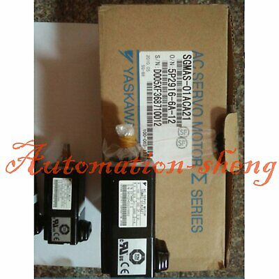 1PC New In Box Yaskawa Servo Motor SGMAS-01ACA21 One year warranty