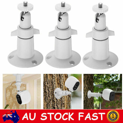 3 Pack Security Wall Holder Mount Outdoor/Indoor for Arlo Pro 2/Pro/Arlo Camera