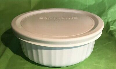 Includes 16-Ounce Round Dish Corningware French White 4-Piece Round Mini Value Pack