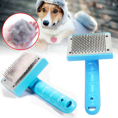 Pet Brush Dog Cat Puppy Hair Grooming Shedding Tool Comb Trimmer Bath Massage