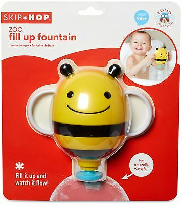 Skip Hop FILL UP BEE FOUNTAIN Baby Bathing Grooming Bath Toy Accessory BN