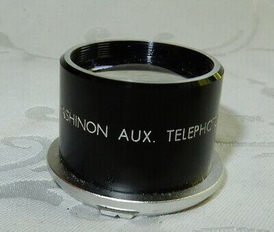 VINTAGE YASHICA YASHINON AUX TELEPHOTO FOR TLR CAMERA Incl MAT-124 G + LENS CAP