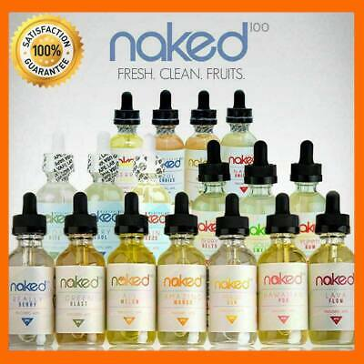 All Melon 3MG 6MG 12MG Naked100 All 60ML 100% Authentic Fast US shipping
