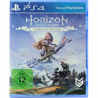 Sony Playstation 4 PS4 Horizon: Zero Dawn Complete Edition  NEU OVP dt.Version