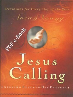 ✅ Jesus Calling: ENJOYING PEACE IN HIS PRESENCE by Sarah Young (2004, eBooks)