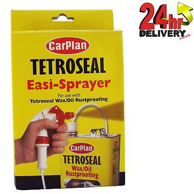 Tetroseal Carplan Waxoyl Easi-Spray Trigger Spray Gun for Tetrosyl Wax Oil