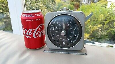 Vintage Interval Timer 1950's Smiths English Clock Systems Works but Needs Attn