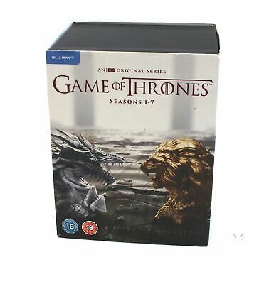 GAME OF THRONES SEASONS 1-7 BLURAY / BOXED / Rated 18 - G03