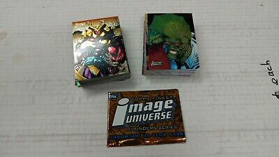 1995 Topps Finest Image Universe Chromium Near Set .. 89/90 .. Missing One Card