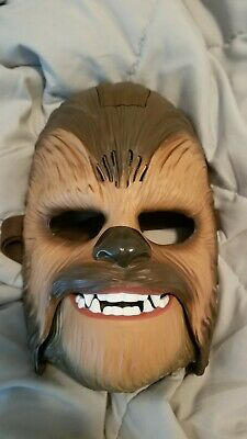 Star Wars The Force Awakens Chewbacca Electronic Mask B3226