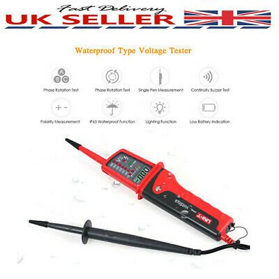 Waterproof Voltage Tester Electrical Induction Test Electric Measuring Pen T4D4