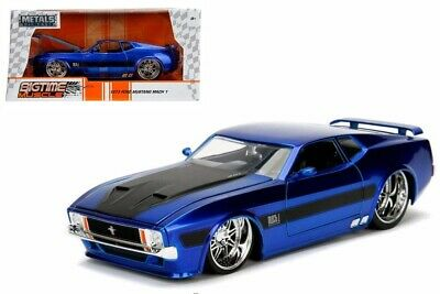 Jada 1973 Ford Mustang Mach 1 1//24 scale 2013 release new no box  yellow