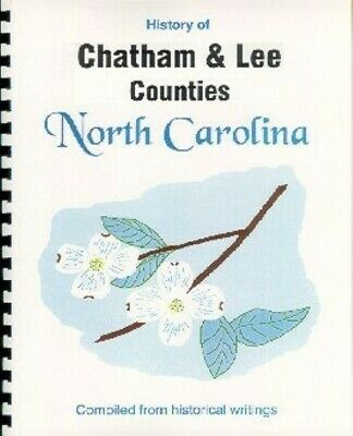 NC Chatham/Lee County North Carolina history Sanford Pittsboro RP from 4 sources