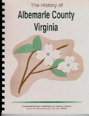 VA Albemarle County Virginia University Jefferson Gwathmey/HoweE~Charlottesville