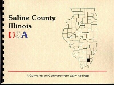 IL Saline County Illinois History Biography Trivia Harrisburg Civil War era