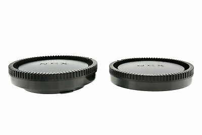 Camera Body and Rear Lens Caps for Sony FE 55mm F1.8 ZA Carl Zeiss Sonnar T*
