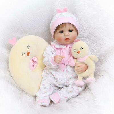 Clearance 17''Reborn Baby Reborn Dolls Realistic Cute Lifelike Christmas Gift