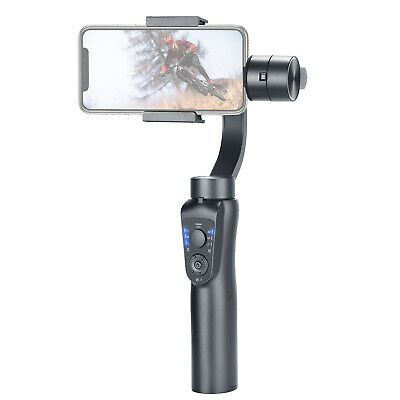 Gimbal 3-Axis Handheld Stabilizer with Zoom Control Auto USB Charging for iPhone