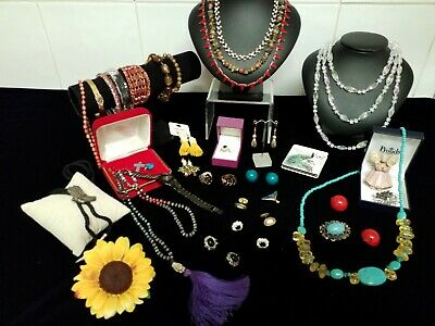 Gorgeous Bulk Lot Of Semi Vintage & Modern Jewellery Includes Sterling Silver