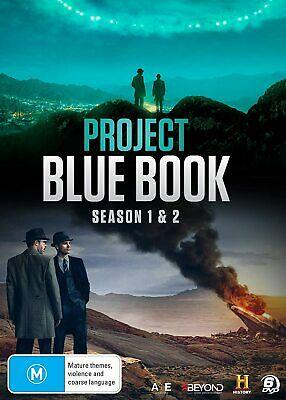 PROJECT BLUE BOOK 1 (2019): Historical Drama TV Season Series - NEW Au Rg4 DVD