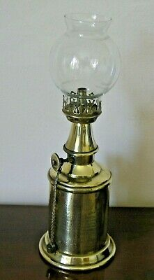 Beautiful French Antique Pigeon Lamp with Globe - Lampe De Pigeon - VGC