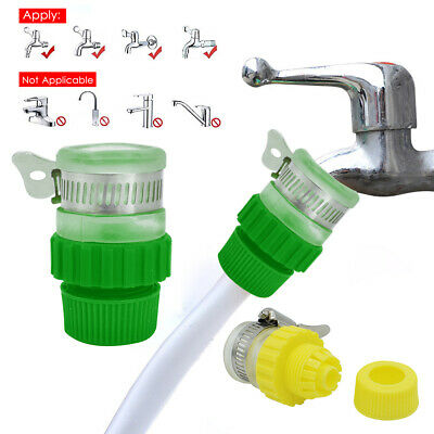 New Universal Tap To Garden Hose Pipe Connector Mixer Kitchen Tap Adapter UK