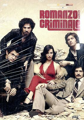 ROMANZO CRIMINALE La Serie (Prima Stagione Completa) BOX 6 DVD Edit. FILM SEALED
