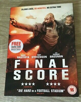 Final Score (Dvd  2018) Film Dvd Bniw New Sealed Gift Present With Slip Cover