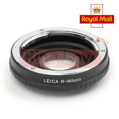 Infinity Lens Adapter For Leica R Lens to Nikon F Mount With Optical Glass D700