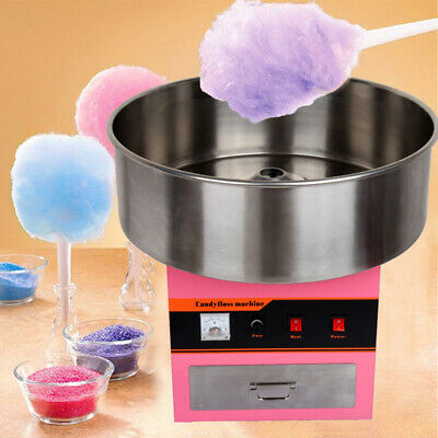 Commercial Candy Floss Making Machine Cotton Candy Maker Party Home 1300W,Ø52cm
