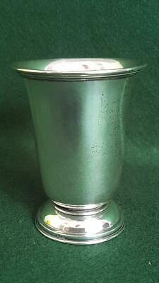 Excellent Quality Antique 19th Century Solid Sterling Silver Footed Beaker 88g