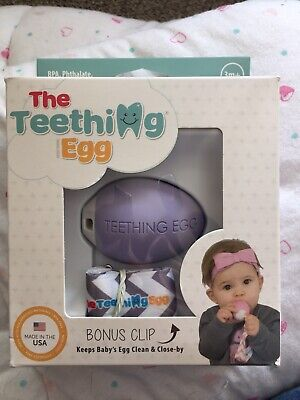 The Teething Egg Lila Ovp Und Neu Baby Zahn