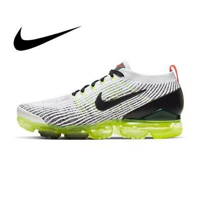 Original Authentic Nike AIR VAPORMAX FLYKNIT 3 Men's Running Shoes Shock Absorbi