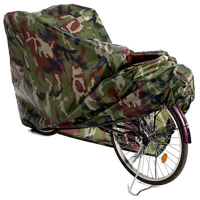 Camo Heavy Duty Water Resistant 190D Oxford Fabric Cover for Mountain Road Bikes