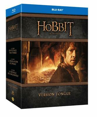 Le Hobbit Version Longue La Trilogie Coffret Blu Ray Bilbon + Copie Digitale Bon