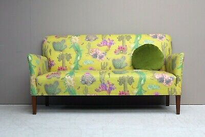 Refurbished Danish Midcentury 1940s Two Seater Sofa 40s