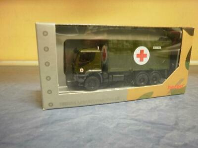 Herpa Military Iveco Trakker 6x6 Abrollcontainer-LKW Bundeswehr 746519