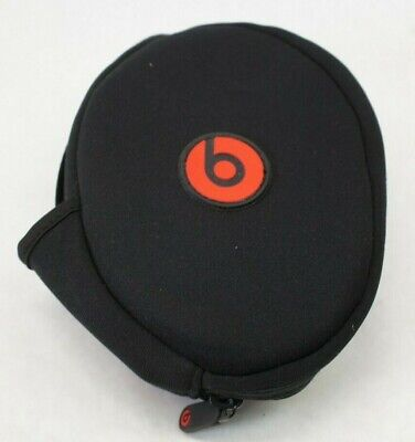 Beats Solo 2 3 Headphone Case - Black/Red